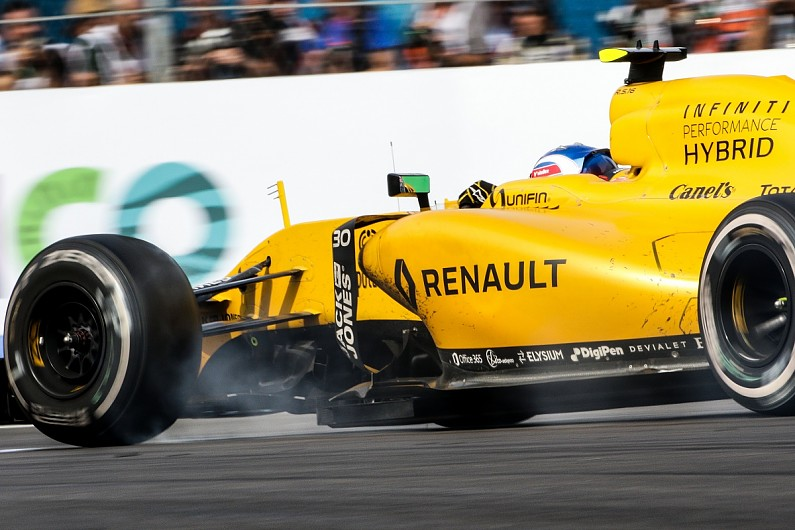 Renault driver