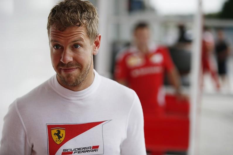 Four-time F1 champion Sebastian Vettel not anxious about Ferrari contract
