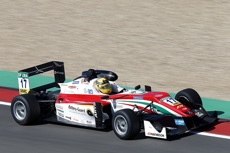 F3 Nurburgring Stroll And Gunther Split Second Qualifying