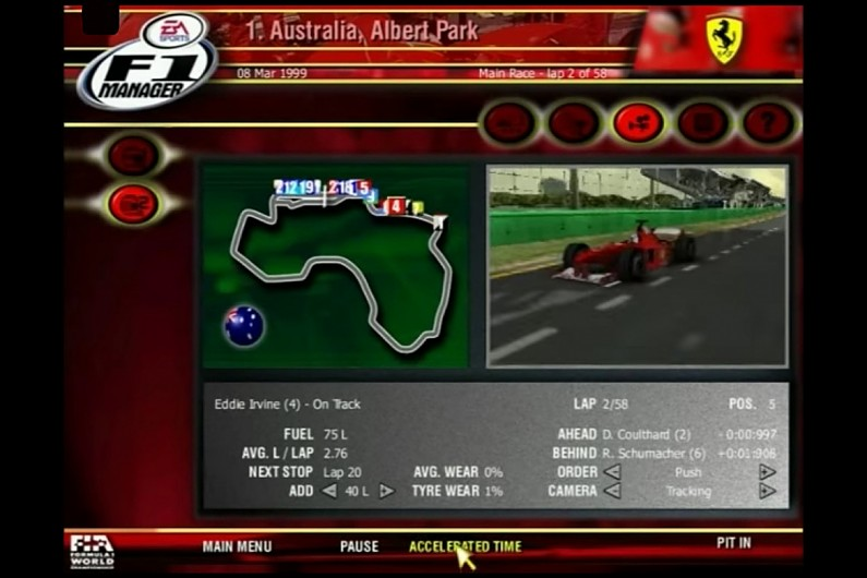 F1 2001 2001 pc game Img-4