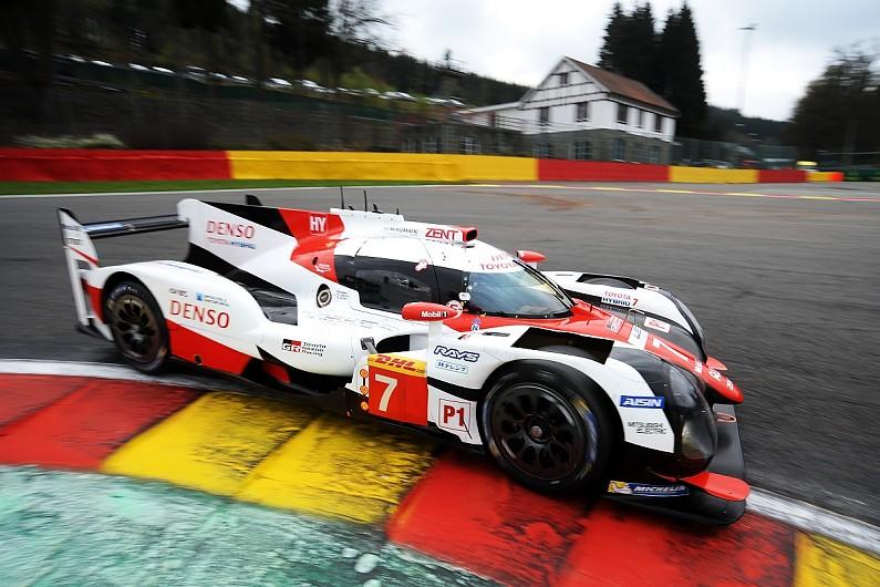 Wec Spa Kobayashi Keeps Toyota Ahead Of Porsche In Second