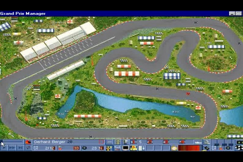 Race Car Manager Game