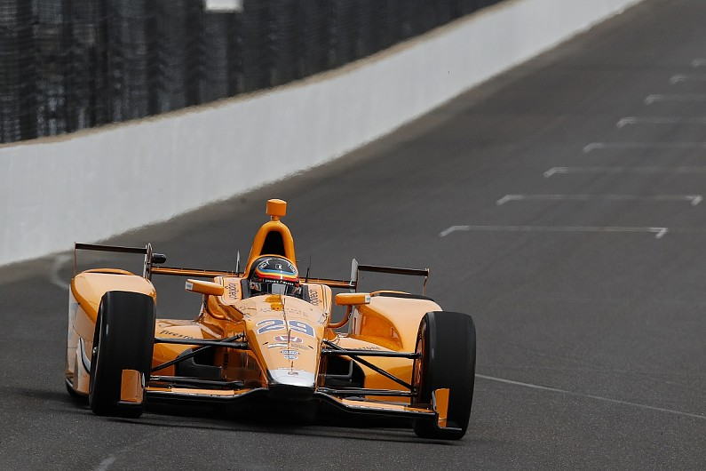 Alonso quickly up to speed at the Brickyard