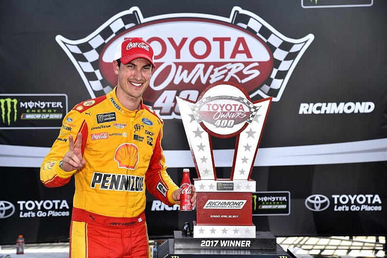Joey Logano's Richmond win won't count towards NASCAR playoffs