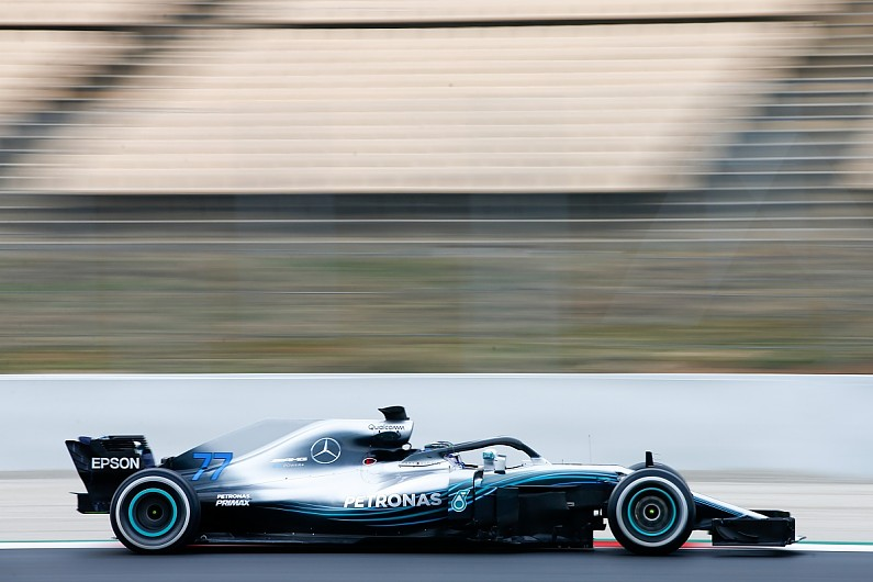 Lewis Hamilton at disadvantage as snow hits F1 pre-season testing in Barcelona