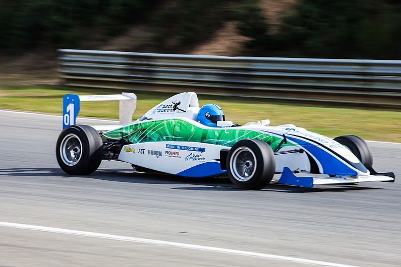 New Junior Electric Single Seater Racing Car Revealed
