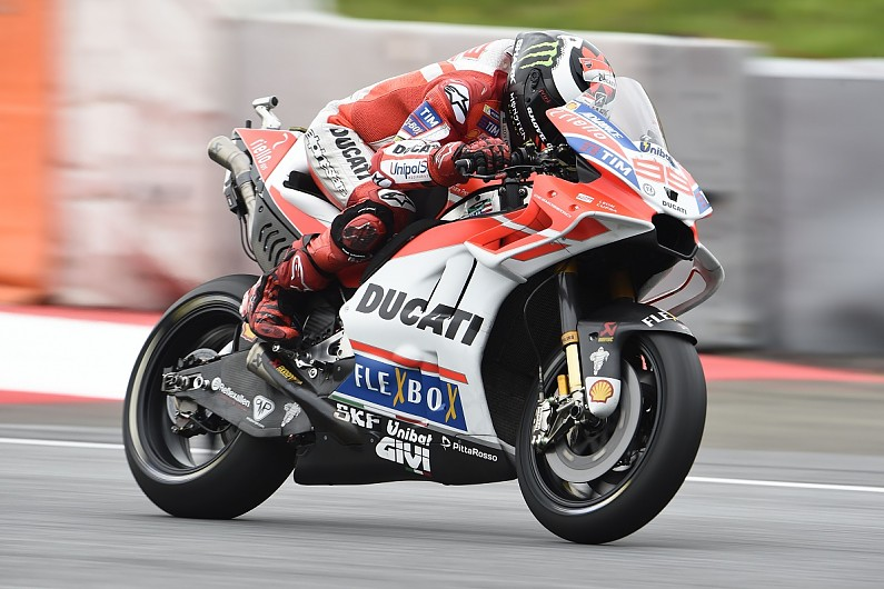 Barbera tops FP1 after Dovizioso lap deleted