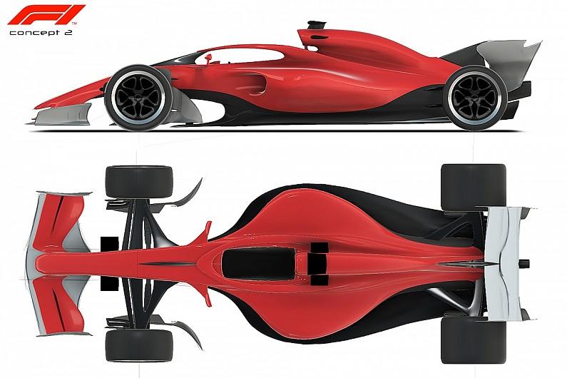 ferrari: 'champ car' 2021 f1 concept designs are
