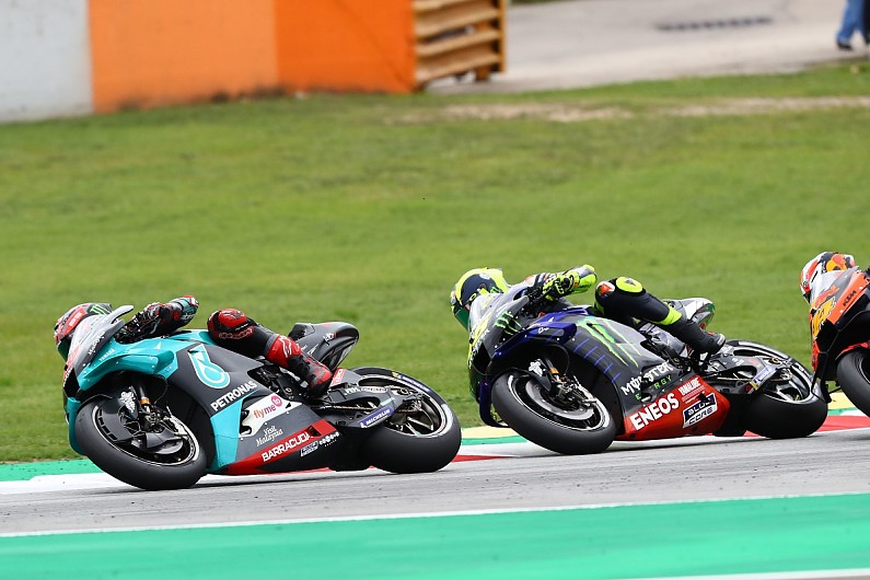 "Quartararo ""can't replace"" Rossi at Yamaha in MotoGP - Motor Informed"