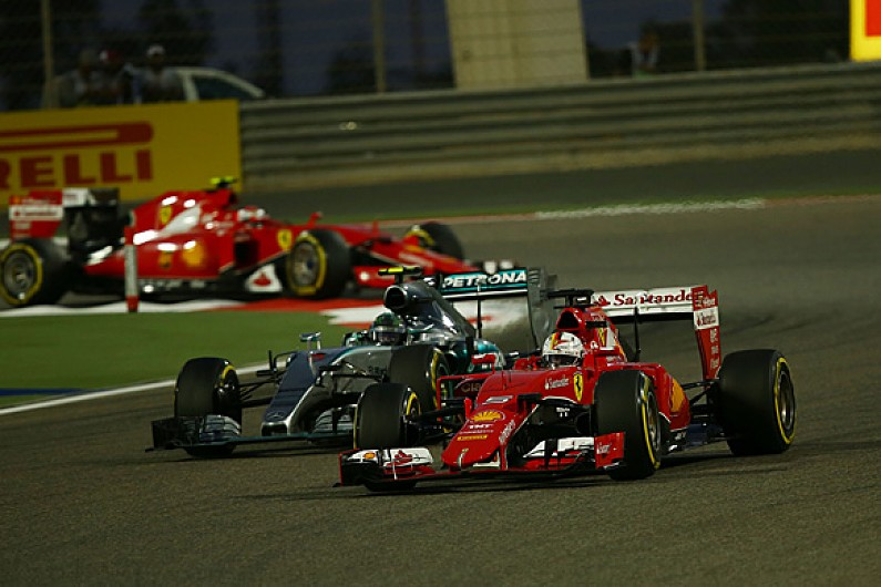 Sebastian Vettel: Ferrari needs 'a while' to catch Mercedes F1 team