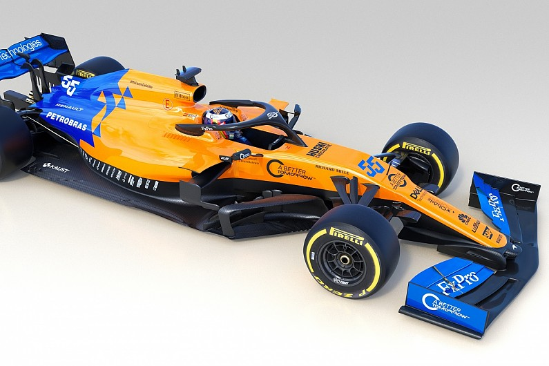 Mclaren Reveals Its Mcl34 F1 Car For 2019 Season F1
