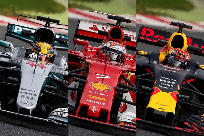 f1 technical focus: how mercedes, red bull, ferrari compare in