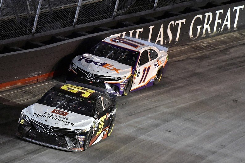 "NASCAR teams ""idiots"" if DiBenedetto doesn't get 2020 seat - Hamlin"