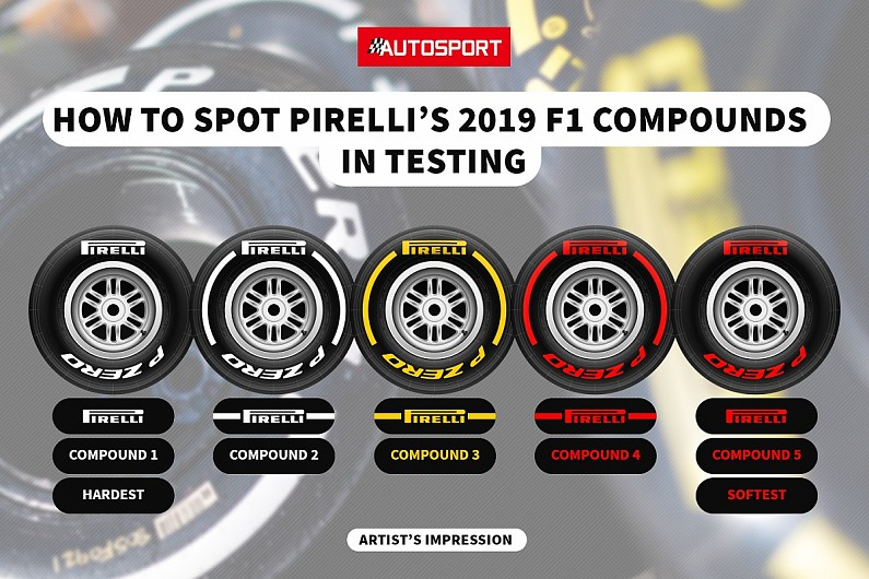 Image result for f1 tyre compounds 2019
