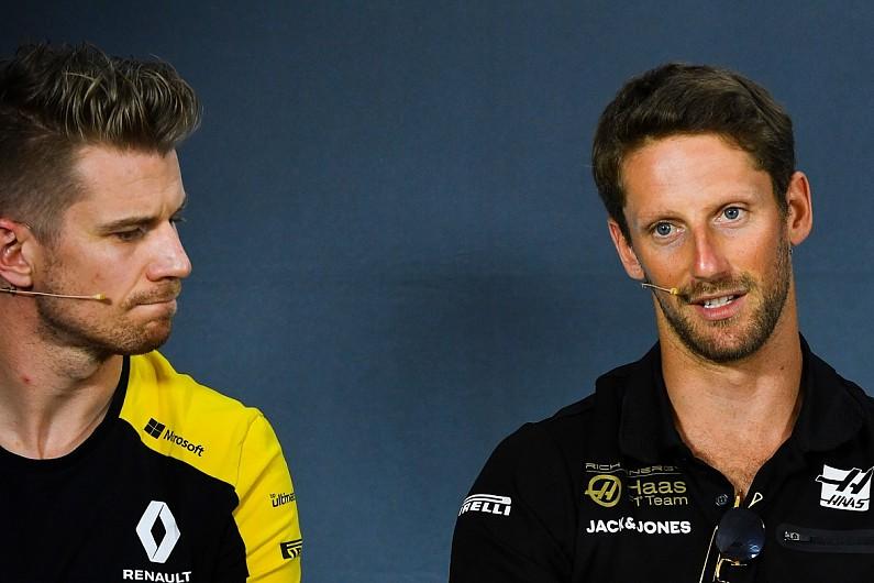 Hulkenberg i Grosjean