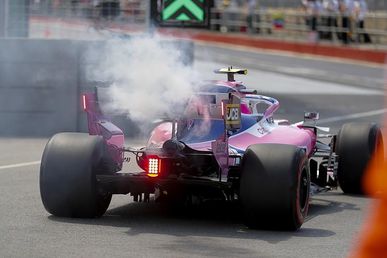 Mercedes traces Stroll's Canada F1 engine failure to spark plug
