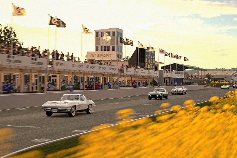 Gran Turismo Sport game adds Goodwood track in latest update