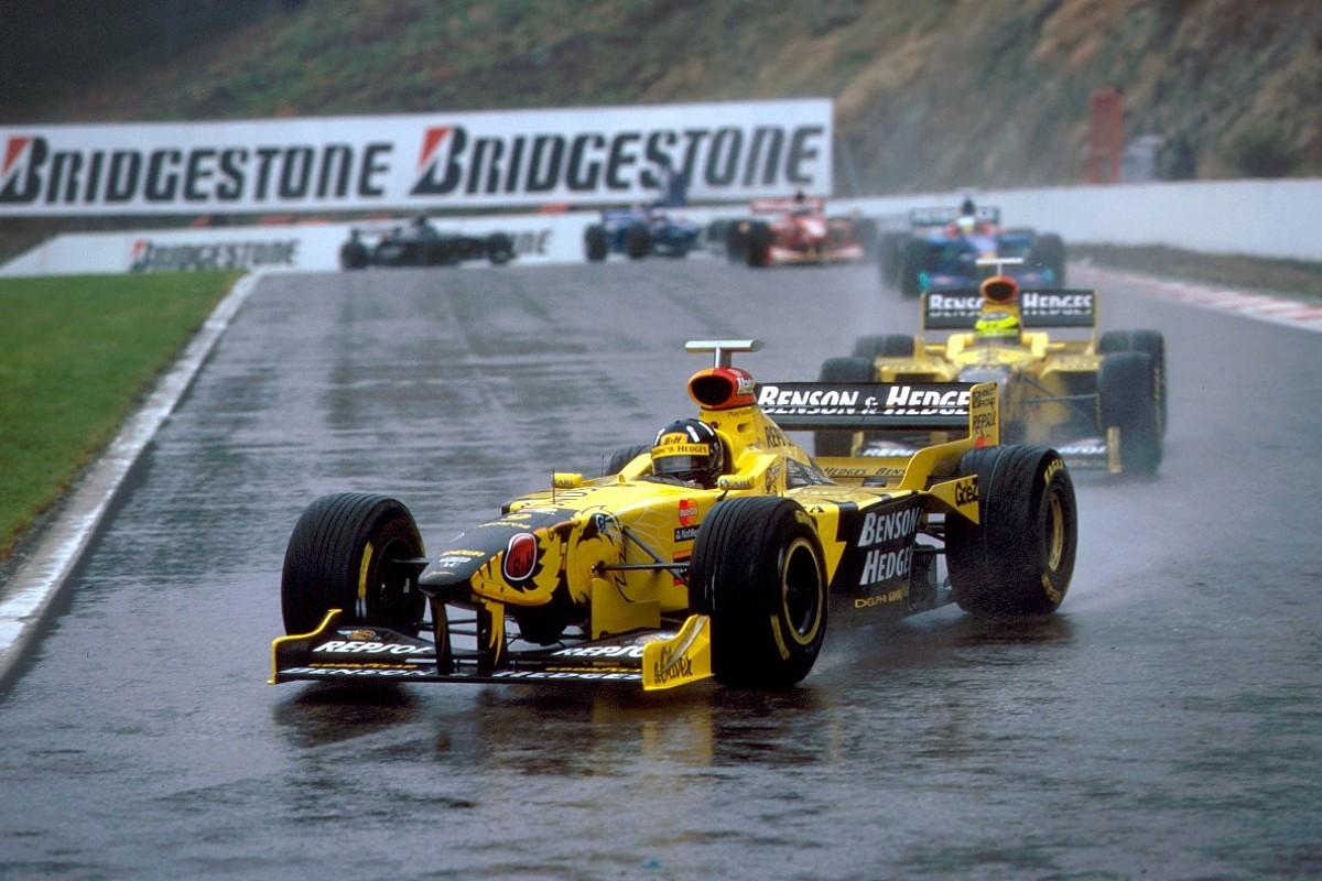 10cdf478e769 How Jordan conquered F1 s craziest Belgian GP - F1 - Autosport Plus