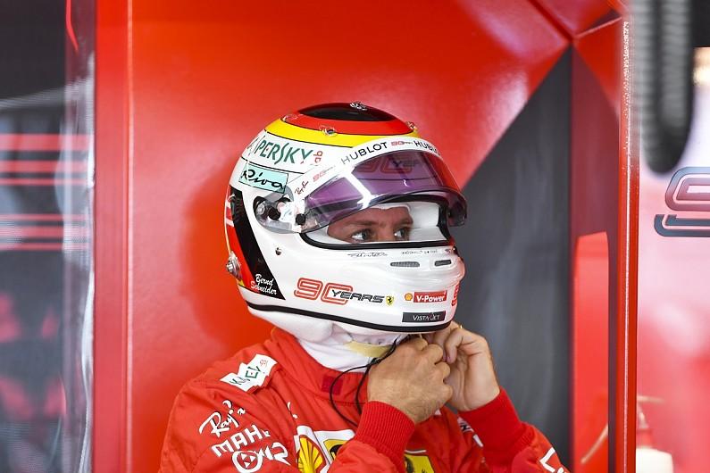 """Sebastian Vettel: Formula 1's """"major BS"""" helmet rules must change"""