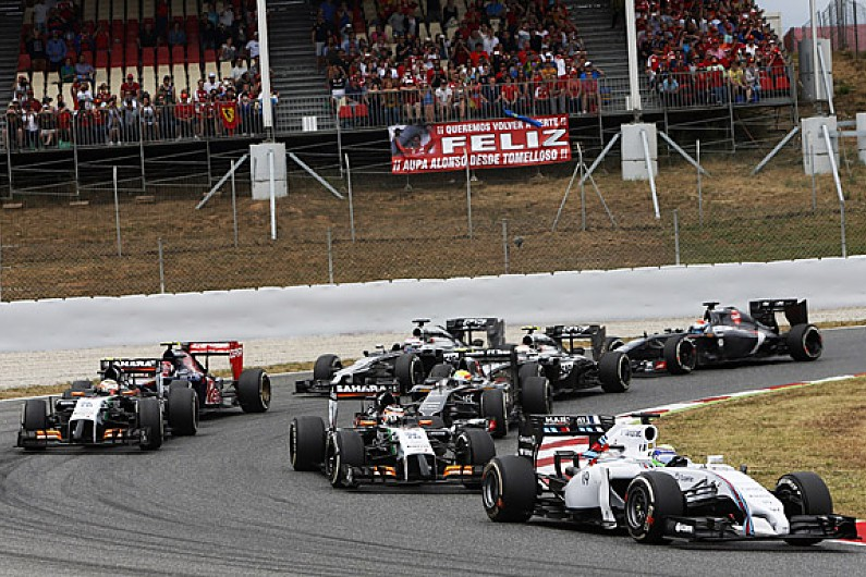 Felipe Massa calls for Formula 1 to study grip levels - F1 - Autosport
