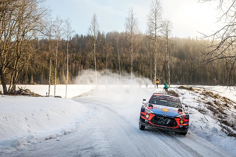 Oliver Solberg to make top class WRC debut at Arctic Rally Finland