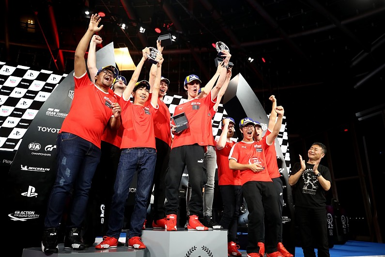 Mercedes first to win back-to-back Grand Turismo World Finals