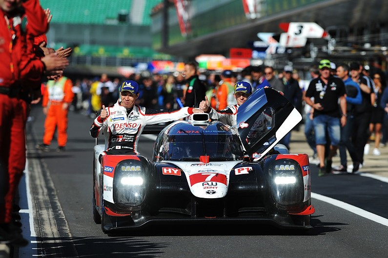 Toyota used team orders three times in Silverstone 4 Hours