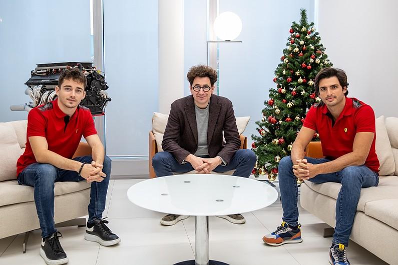 Ferrari: Leclerc and Sainz will start 2021 F1 season with equal status