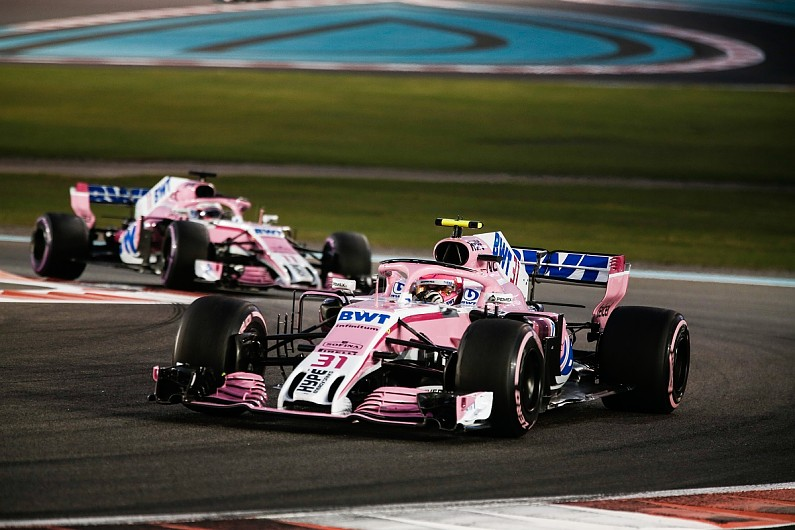 F1 2019 Entry List New Force India Name And Rookie Numbers Revealed