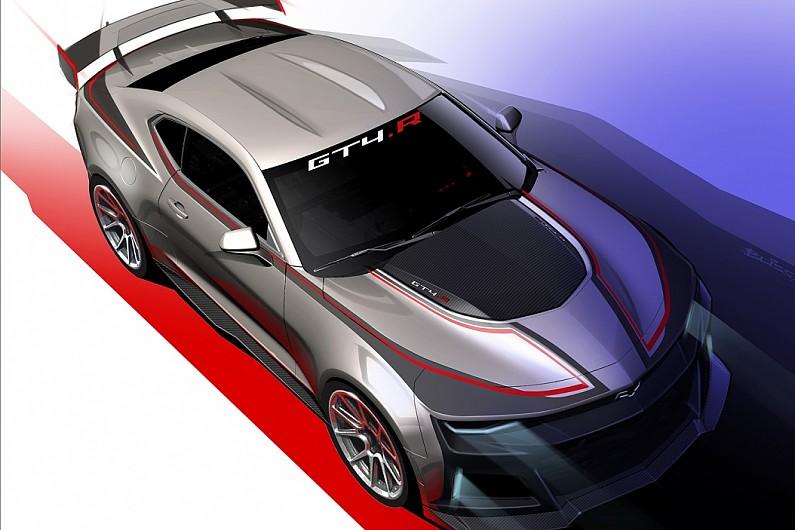 Camaro Gt4r >> Chevrolet reveals new Camaro for GT4 series - GT - Autosport