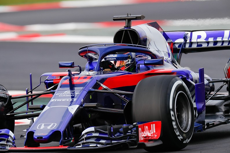 F1 testing: Honda reliability 'perfect' on Toro Rosso debut ...