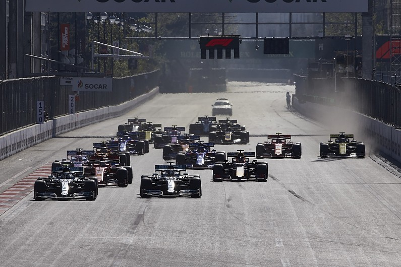 F1 race schedule 2020
