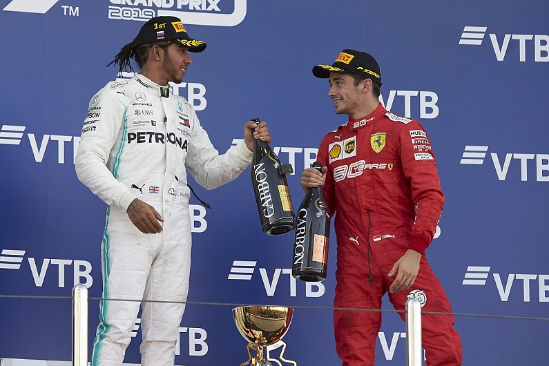 Leclerc would welcome Hamilton as Formula 1 team-mate at Ferrari