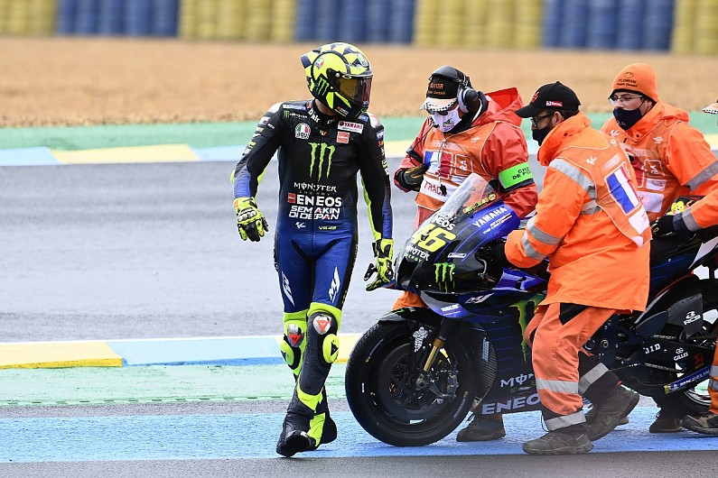 """Rossi """"didn't understand"""" why he crashed in MotoGP French GP - Motor Informed"""