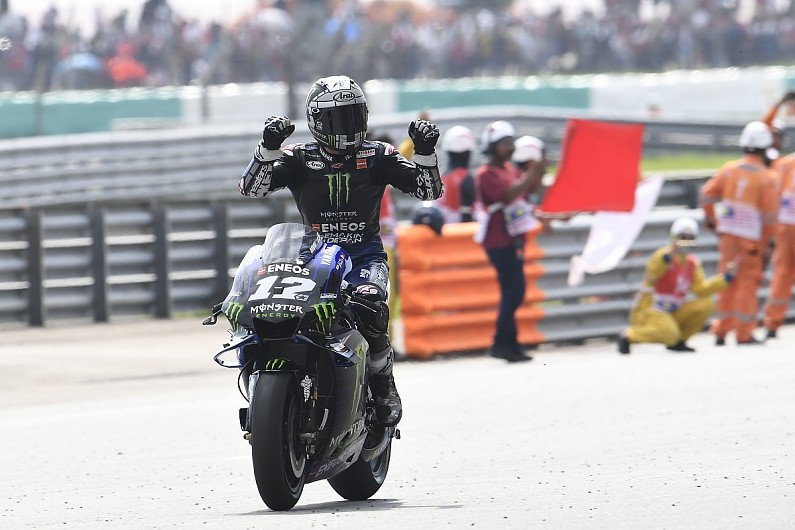 Vinales gets new Yamaha MotoGP contract to run until end of 2022