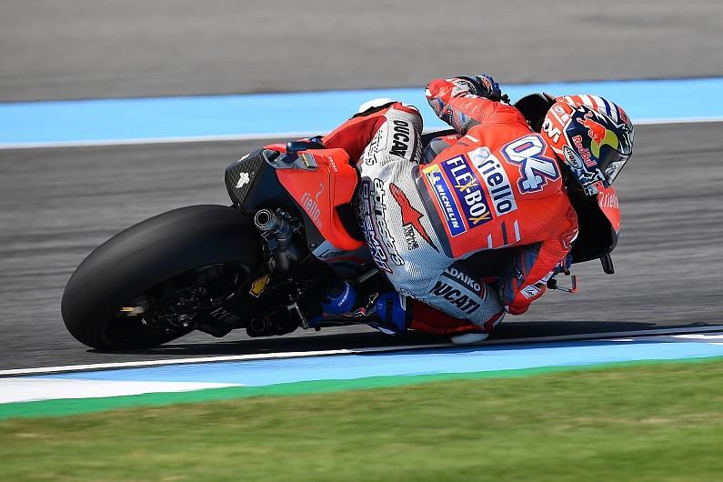 Buriram Motogp Dovizioso Tops Fp3 Marquez To Contest Q1 After