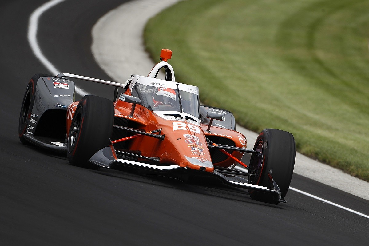 Hinchcliffe tops opening day of Indy 500 practice, Alonso fifth on ...