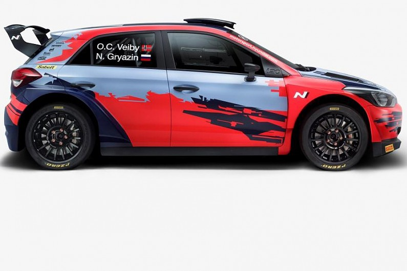 Hyundai to enter WRC 2 as manufacturer with upgraded i20 R5 car