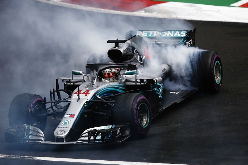 Lewis Hamilton crowned 2018 F1 world champion with 'horrible