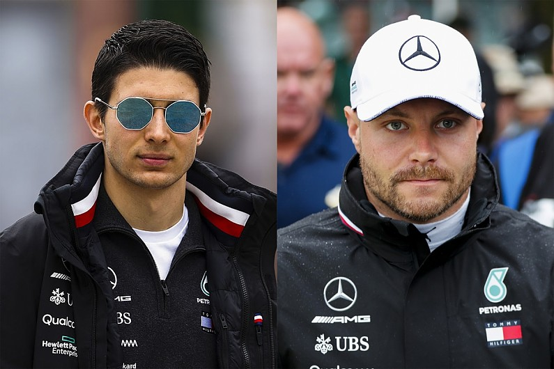 Video: How do Bottas and Ocon compare for Mercedes F1 seat in 2020?