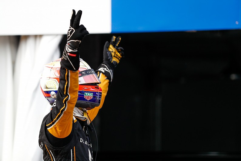 Sanya FE: Jean-Eric Vergne survives late investigation to win