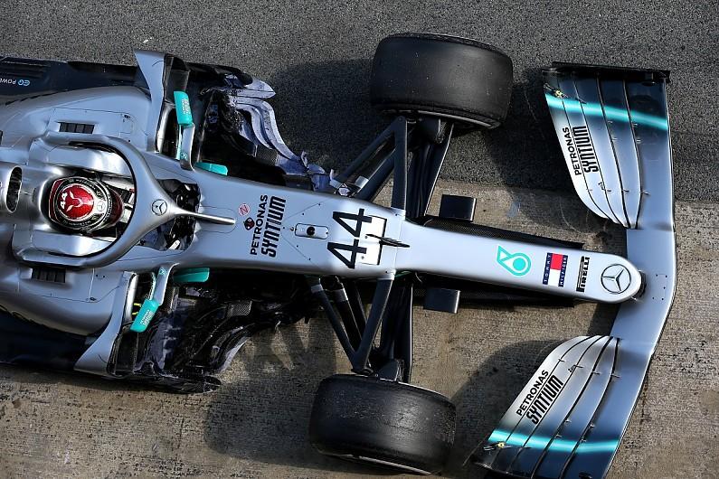 New Mercedes feels 'quite a bit different' to '18 F1 car - Hamilton