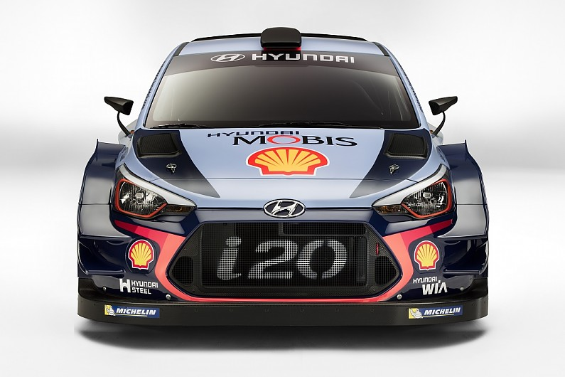 New Hyundai Launches Its 2017 World Rally Car For New Regulations  WRC  Autosport