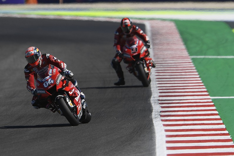 "Dovizioso: No use being ""p***** off"" by Ducati's Misano MotoGP form"