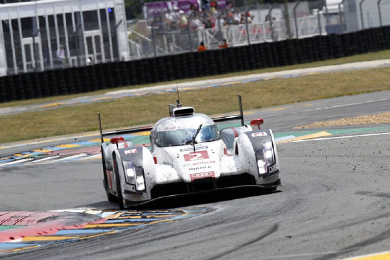 audi set to stick with single hybrid system for 2015 wec