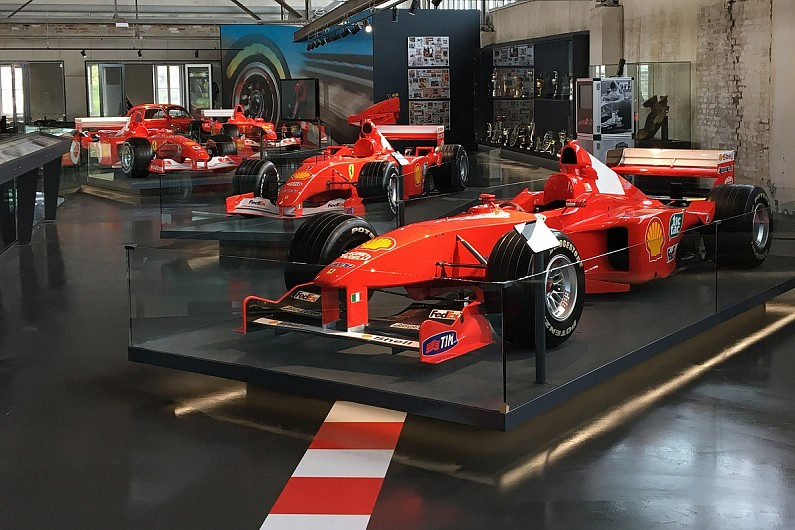 New Michael Schumacher Exhibition Unveiled In Germany F Autosport - Exhibition car