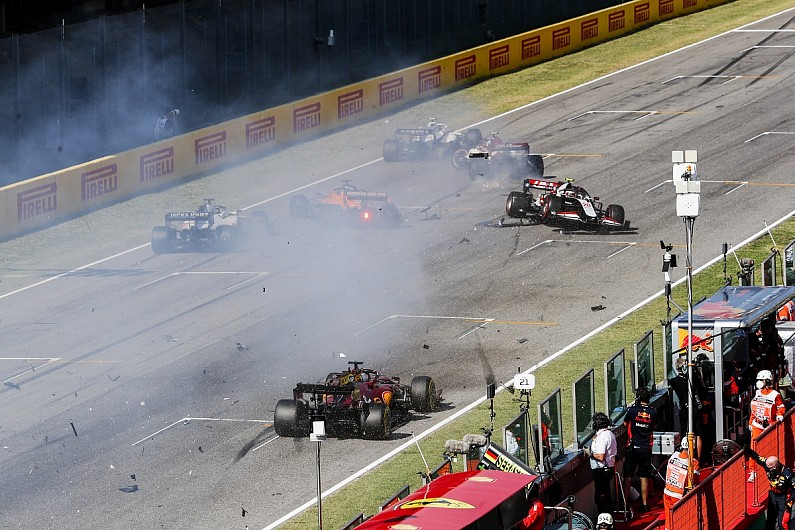 The Key Questions About The Mugello F1 Restart Crash F1 Autosport