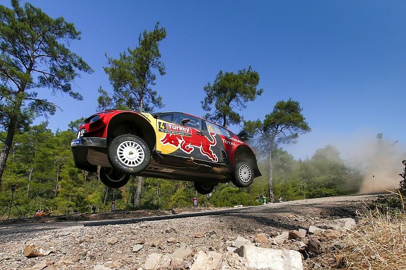 Lappi takes WRC Turkey lead for Citroen ahead of Latvala
