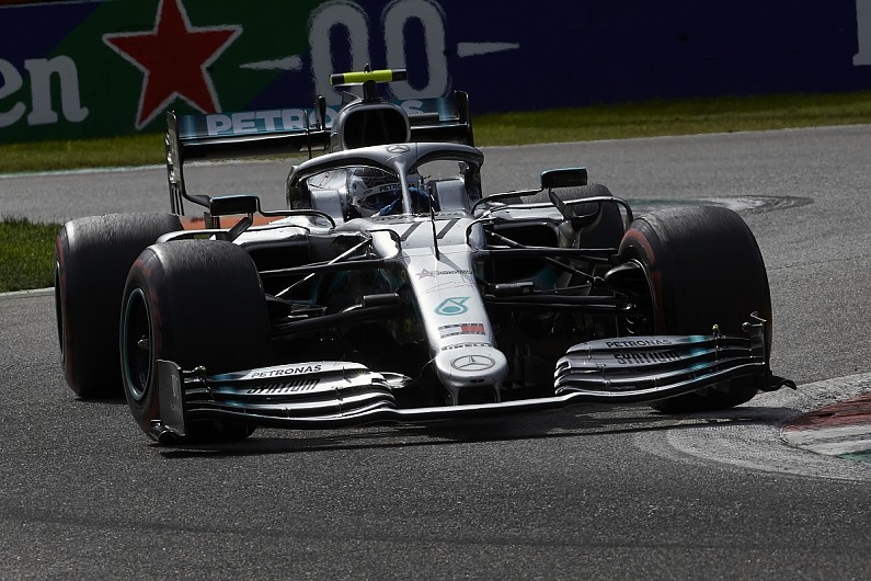 Mercedes` Bottas still `far away` from level of F1 driver he can be
