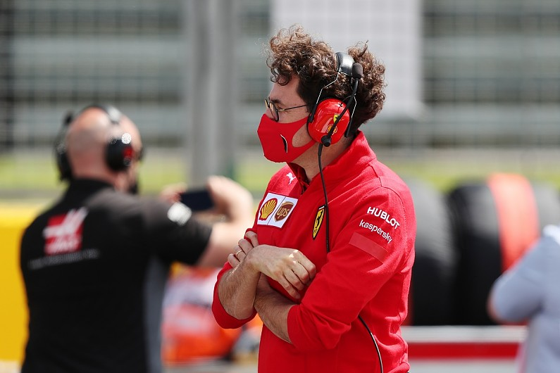 Ferrari restructuring sees Binotto step back from F1 technical role